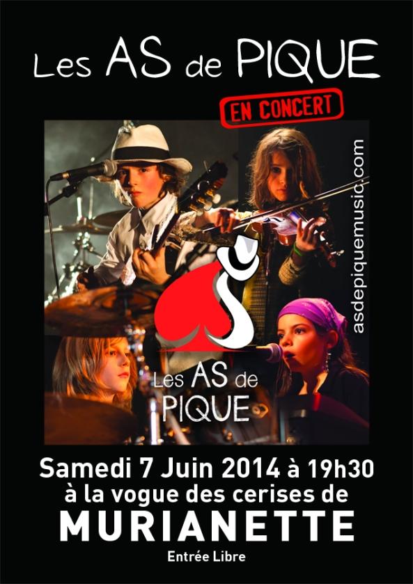 affiche concert Murianette