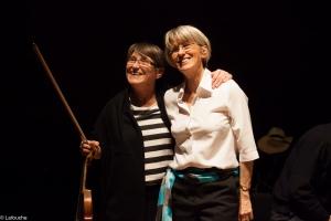 Christine Dubreuil et Véronique Riou