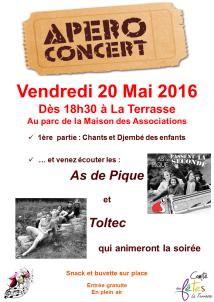 Affiche Apéro Concert V4